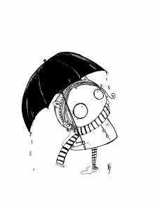 Copinette pluie