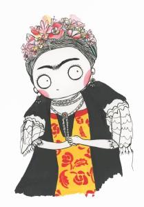 Frida Kalho jaune